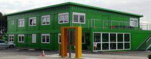 Green modular school building Rem