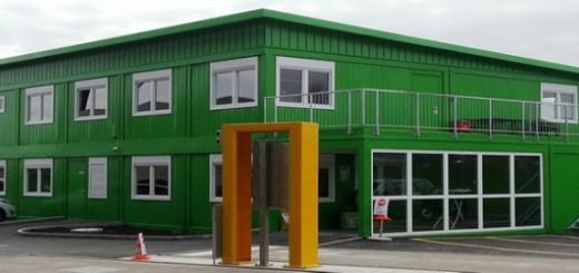 Green modular school building Rem