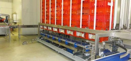 automated warehousing logistics system