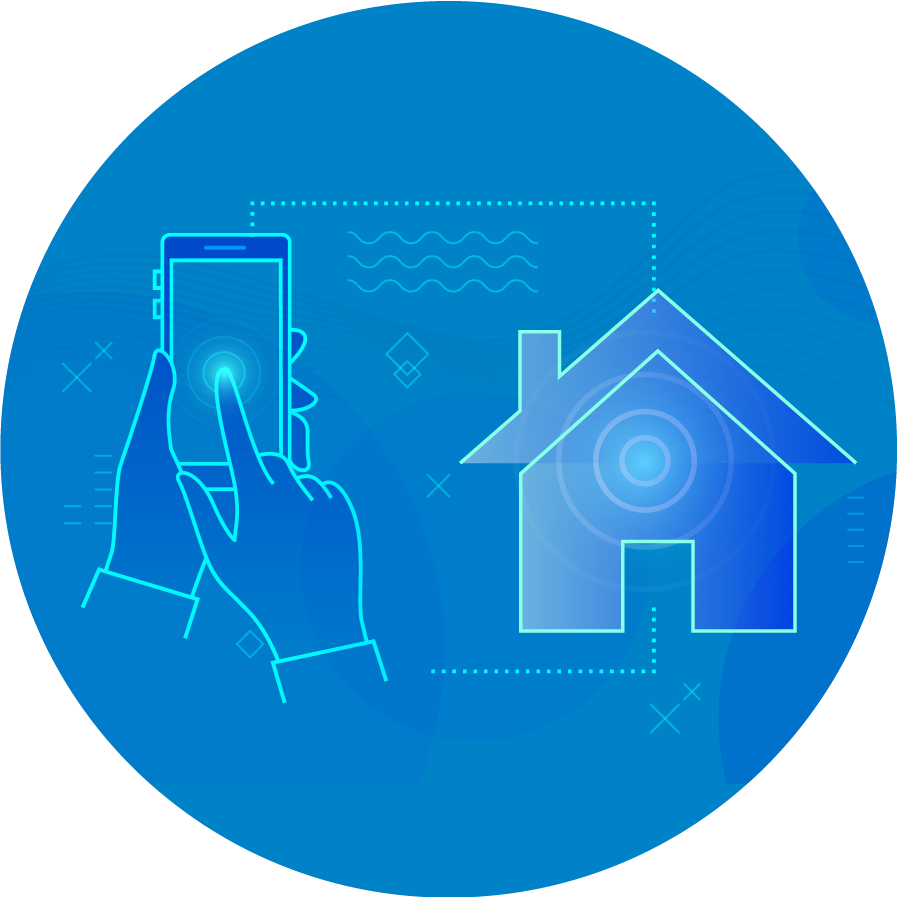 Smart home with wireless switches