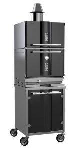 Charcoal oven for baking