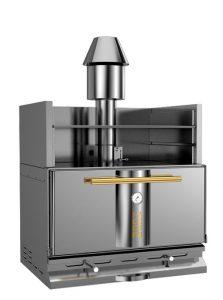 Charcoal oven restaurant temperature