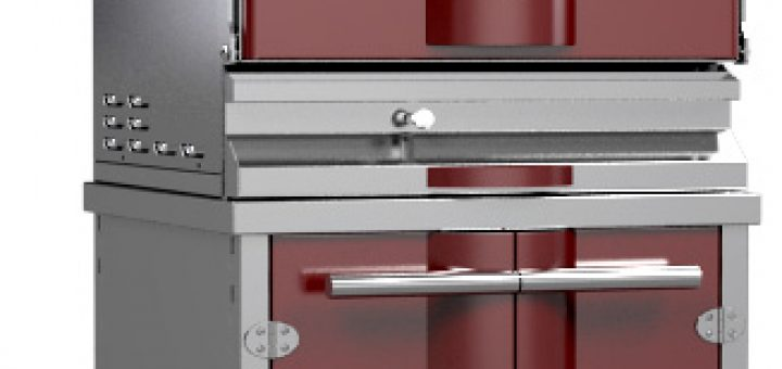 design of a charcoal oven grill