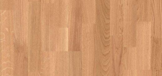 Laminate Oak Flooring In Medium Colour Is A Safe Classic Choice