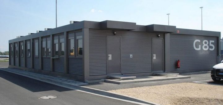 Container office building