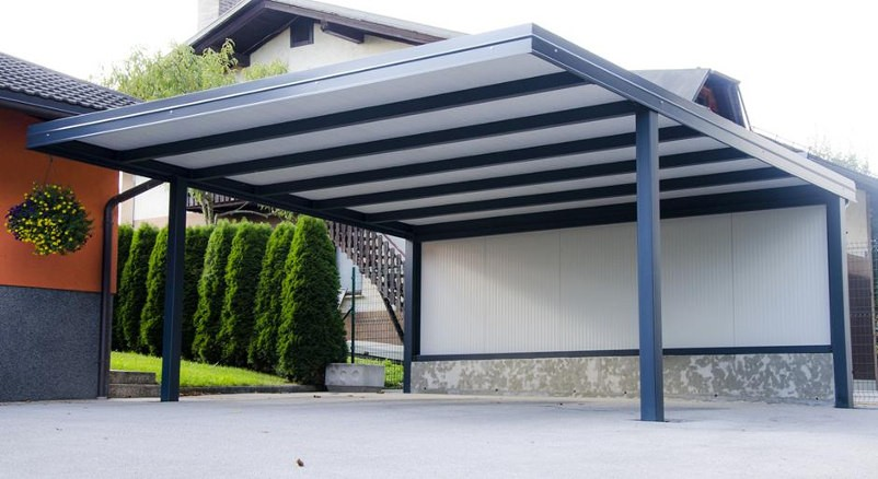 carport f r 2 autos breite there is a good advice for. Black Bedroom Furniture Sets. Home Design Ideas