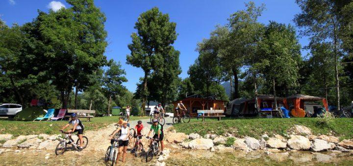 Bohinj Lake camping